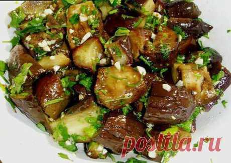 """Баклажаны """"Узбекистан"""" :: Кулинарные рецепты :: KakProsto.ru: как просто сделать всё"""
