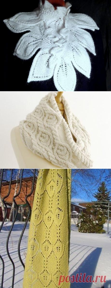 Красивое вязание | Шапки, Шарфы, Палантины, Снуды