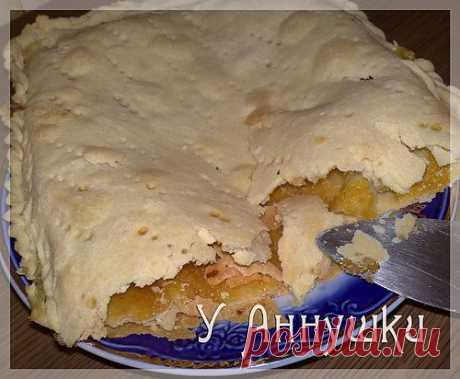 У Аннушки: Пирог с начинкой из кожуры апельсина (лимона).