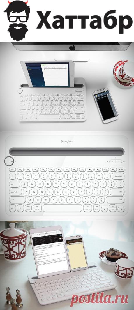 Logitech создала удобную Bluetooth клавиатуру для Планшета и телефона | Хаттабр.Ру