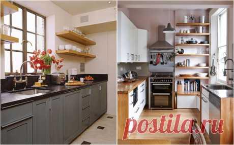 De 12 astucias geniales de diseñador para las pequeñas cocinas