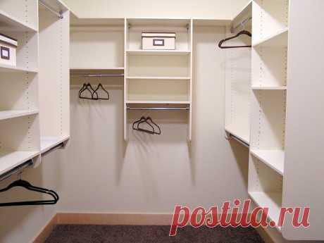Как создать гардеробную в маленькой квартире, почти не жертвуя квадратными метрами — Pro ремонт