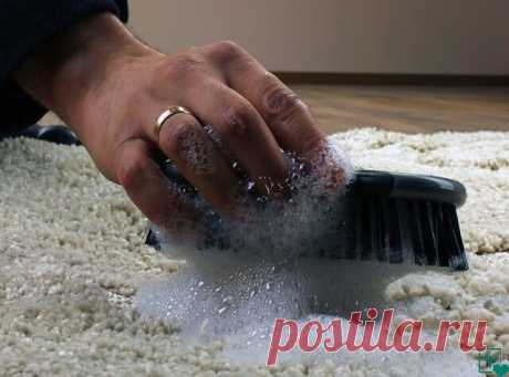 Как почистить ковер с помощью уксуса и пищевой соды - результат потрясающий