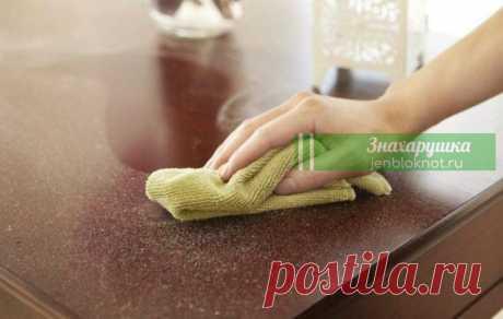 Намазала полки и полы простым аптечным средством — nыли в домe большe нет Пыли в доме больше не будет!