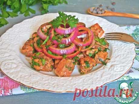 La trucha en la marinada caliente - la receta de cocina