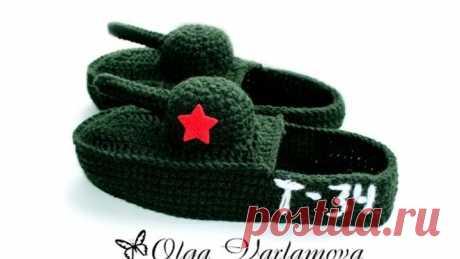 MK las Zapatillas para los hombres por el gancho - los TANQUES (1Часть)