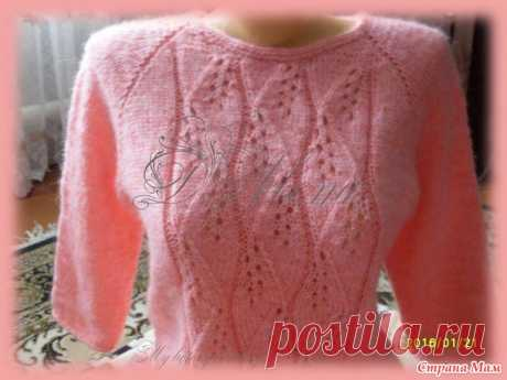 Next jumper raglan. - Knitting - the Country of Mothers