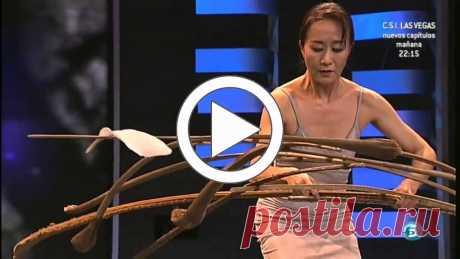 То, что делает эта китаянка на грани волшебства...