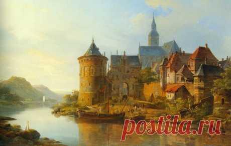 Голландские художники пейзажи Амстердам: 8 тыс изображений найдено в Яндекс.Картинках