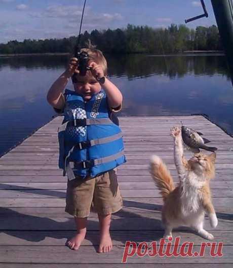 Los pescadores)