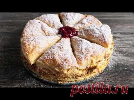 Французский торт «Мильфей» | Так просто и так вкусно! 🍰