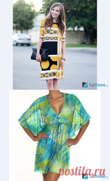 4 модели платьев и туник для шитья своими руками
