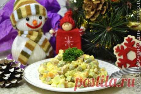 👌 Любимый Оливье к Новому году, рецепты с фото Признаться, в течение года я готовлю абсолютно разные салаты – пробую новые сочетания, всегда экспериментирую со вкусами… Готовлю всё, наверное, кроме «Оливье»...  «Оливье» всег...