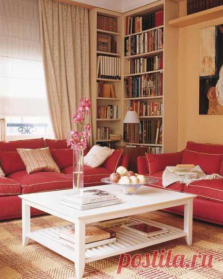Оформление небольшой гостиной — Роскошь и уют