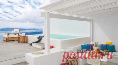 Отель для настоящих мечтателей — Aqua Luxury Suites | Средиземноморская архитектура в Испании, Греции, Марокко, Египте / Mediterranean architecture and design
