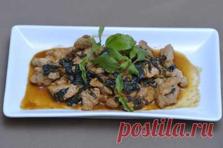 Рецепт мяса по-тайски от Шефмаркет