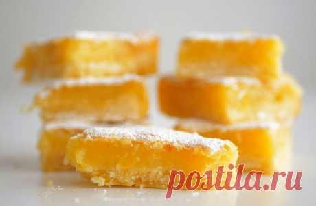 Лимонный пирог из песочного теста | Рецепты на SuperKuhen.ru