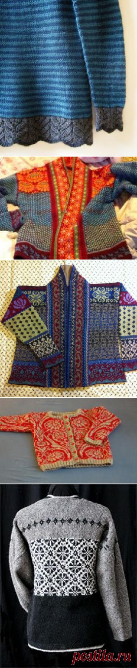 (1) Ravelry: Kauni Stranded Sampler Jacket pattern by Flory Loughead | Stranded knitting, Jacquard, Intarsia and the likes