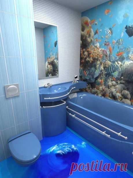 Asombroso 3D el diseño de los cuartos de baño. Querrás convenir tal a casa …