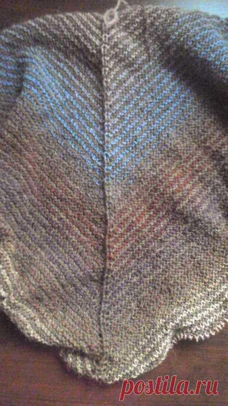 🧶Простая шаль из верблюжьей шерсти | Сундучок с подарками | Яндекс Дзен