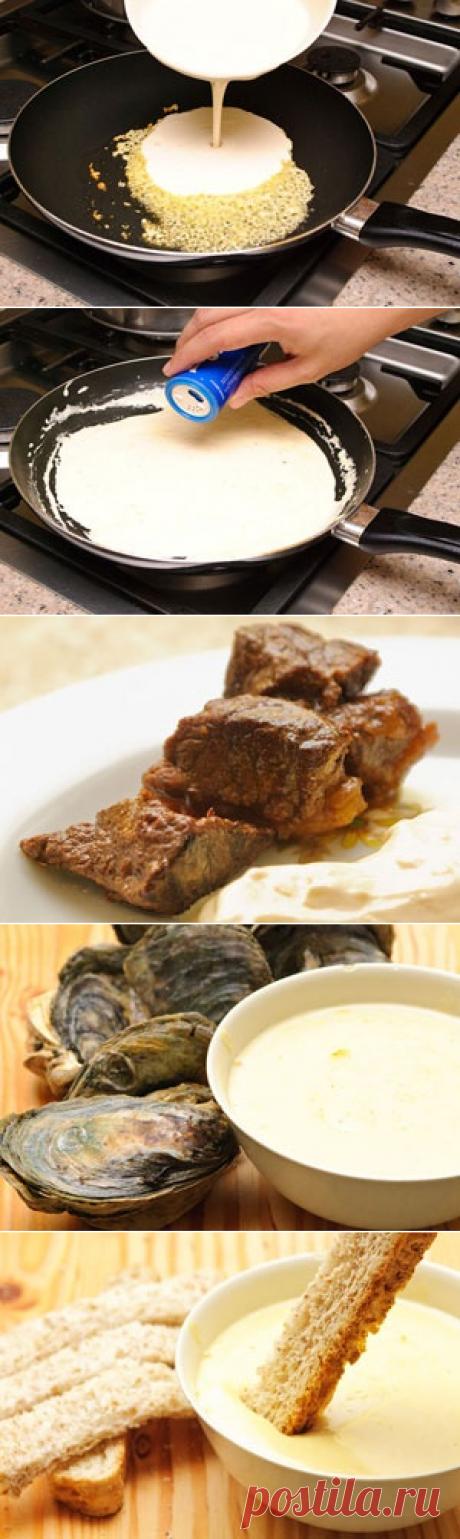 La salsa de ajo \/ las Salsas universal \/ TVCook: poshagovye las recetas de la foto