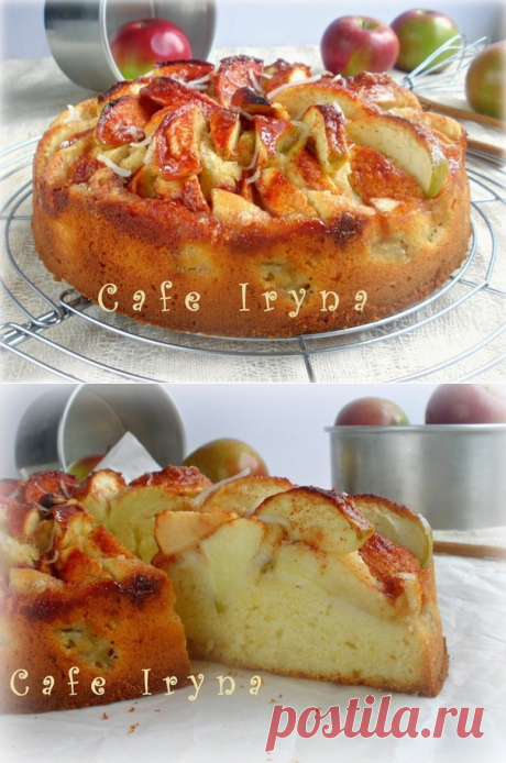Шикарная выпечка - Яблочный пирог от бабушки Эммы