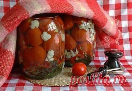 Запасаемся на зиму: маринованные помидорчики | Домохозяйки