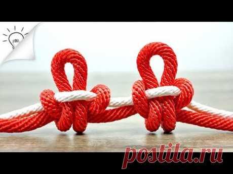 12 хитростей с узлами и веревками, которые вы можете сделать | Thaitrick