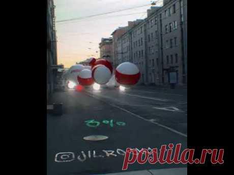 Видео: Огромные шары прогоняют Лукашенко   SnatchNews - новостной портал