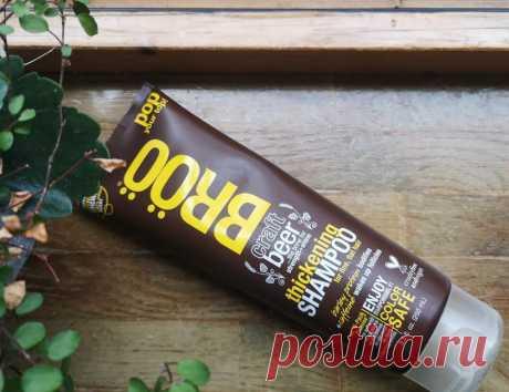 Пивной шампунь BRöö Thickening shampoo, отзыв