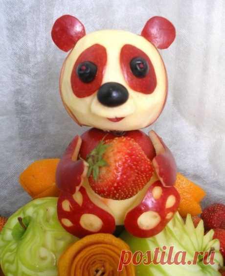 Волшебный фруктовый арт на детские праздники