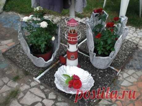 Beton giessen - Blumenkübel aus Handtuch und Bodenausgleichmasse