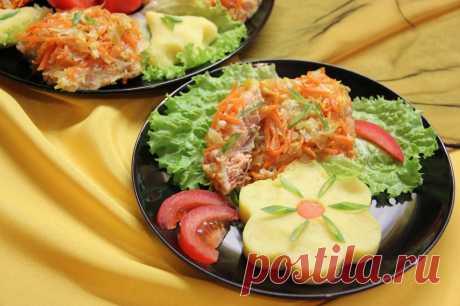 Горбуша под классическим маринадом и яичной заливкой рецепт с фото пошагово - 1000.menu