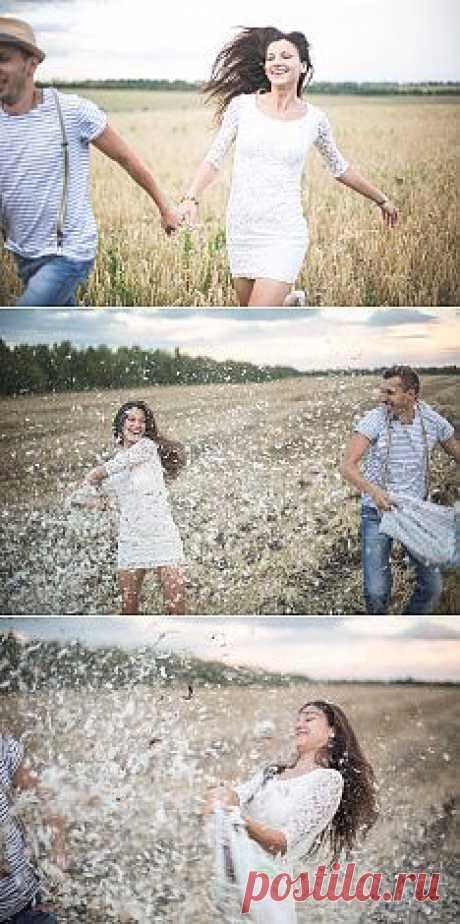 Поле любви: love-story Насти и Толи - WeddyWood