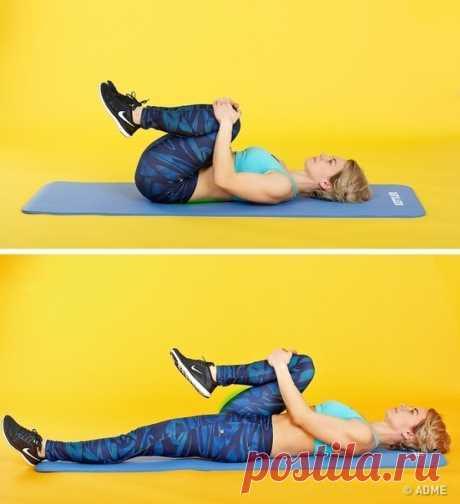 5 yпражнений для cпины, которые создают ощущение, что вам только что сделали маccаж! + Бонус