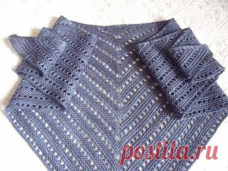 Unilintu - треугольной платок / шарф,