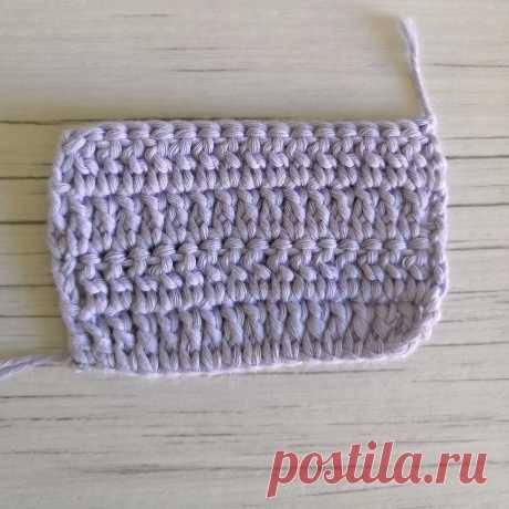 Урок 7. Патентный столбик и с чем его едят. | Easy_crochet_style | Яндекс Дзен