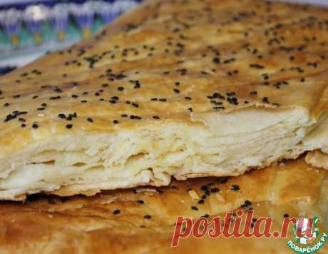 Турецкие слоеные лепешки – кулинарный рецепт
