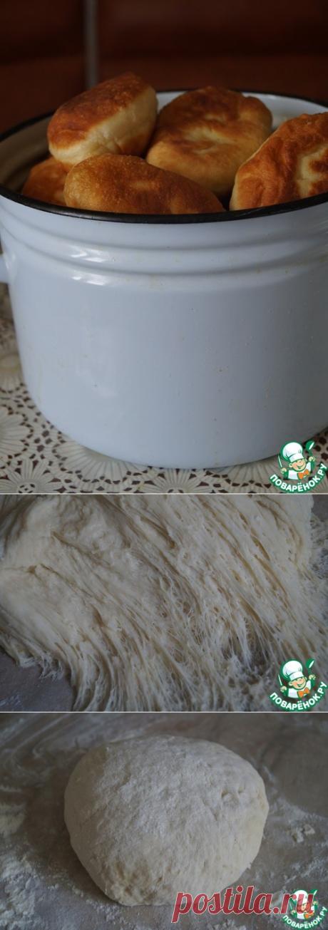Дрожжевое тесто на кипятке - поверьте, это - восторг, а не тесто!