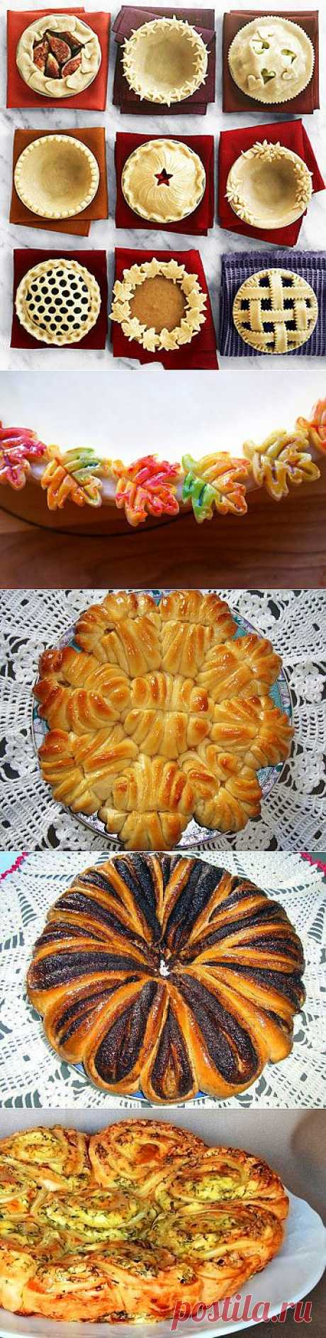 DECORATION of PIES - Simple recipes of Овкусе.ру