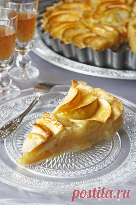 Французский яблочный пирог | Рецепты на каждый день