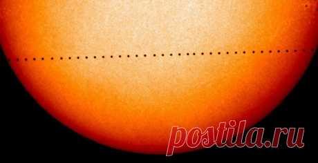 Смотрите видео уникального астрономического явления.