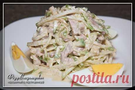 Салат «Ташкент»   Домашние рецепты
