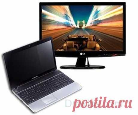 Как вывести изображение с ноутбука на телевизор Инструкция и все способы, как подключить ноутбук к телевизору - проводом через HDMI, DVI, VGA, без проводов по Wi-Fi или USB-адаптер, Apple TV.