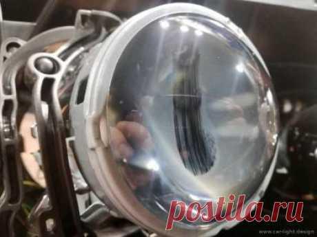 Грязь внутри фары. Профилактическая чистка фар Mercedes-Benz w221 s500 | СТО Car-Light.Design автосвет Киев
