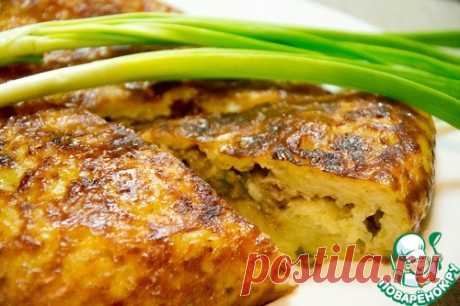 Hash brown baked pudding