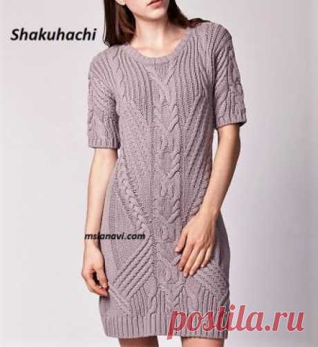Knitted dress from Shakuhachi | we Knit with Lanah Vee