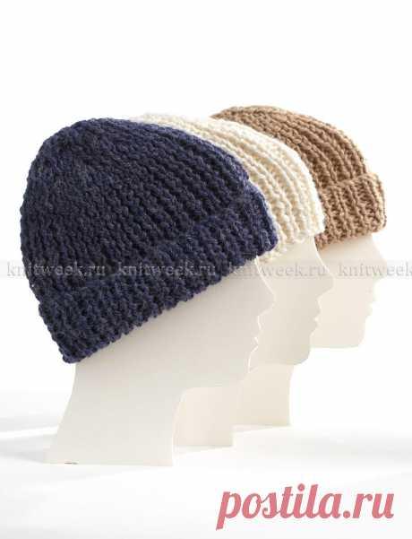 Вязаная шапка для всей семьи