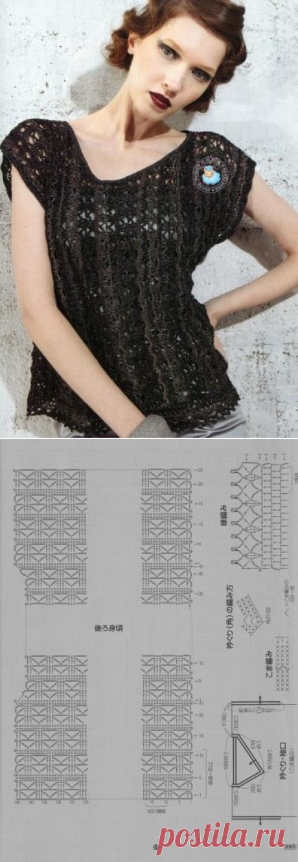 1342 - майки, топи - В'язання для жінок - Каталог статей - Md.Crochet