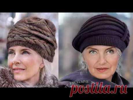 Какую шапку связать на осень зиму Простая шапка для женщин +55